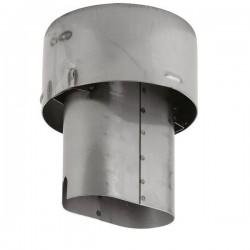Króciec wylotowy spalin 150 mm
