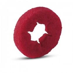 Pady walcowe czerwone, 105 mm