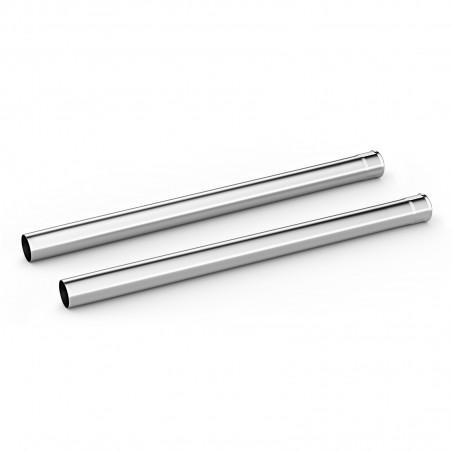 Rura ssąca chromowany NW35 - 505mm