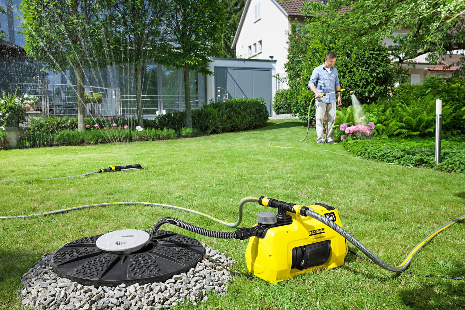 pompy zanurzeniowe i ciśnieniowe w ogrodzie
